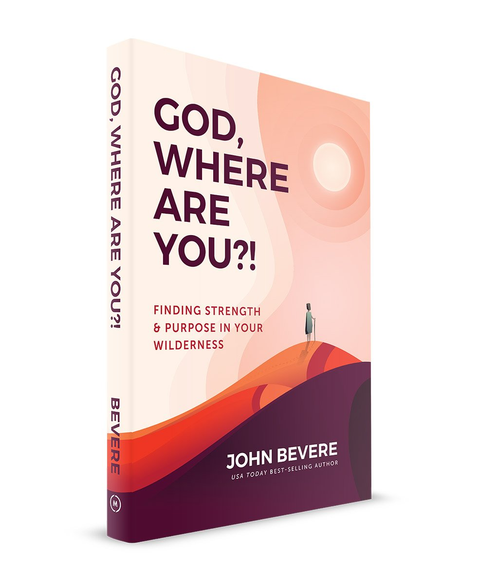 "Coverpage. Book review of John Bevere's, ""God, where are you?"""