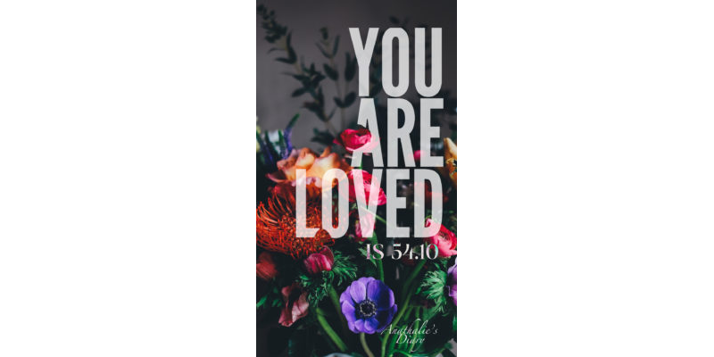 You Are Loved Cell Screensaver